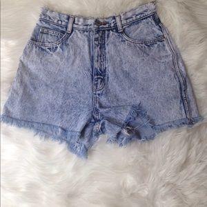 Vintage Jordache High Rise Shorts Jeans Size:8